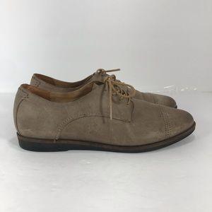 OluKai Keawe lace up leather Oxford shoes sz 9